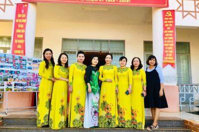 Ngày 16/6/2020 chi bộ trường MG Hoa Cúc tham dự đại hội đảng bộ xã ea blang, nhiệm kỳ 2020-2025.