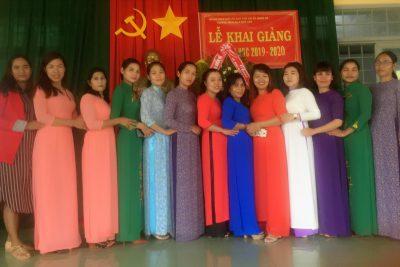 HÌNH ẢNH KHAI GIẢNG NH 2019-2020