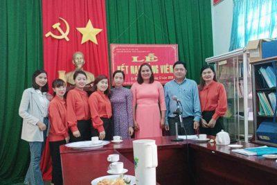 Lễ kết nạp đảng viên mới tháng 12/2020