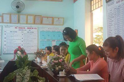 Ngày 20/10/2020 trường MG Hoa Cúc tổ chưc Hội nghị CCVC năm học 2020-2021